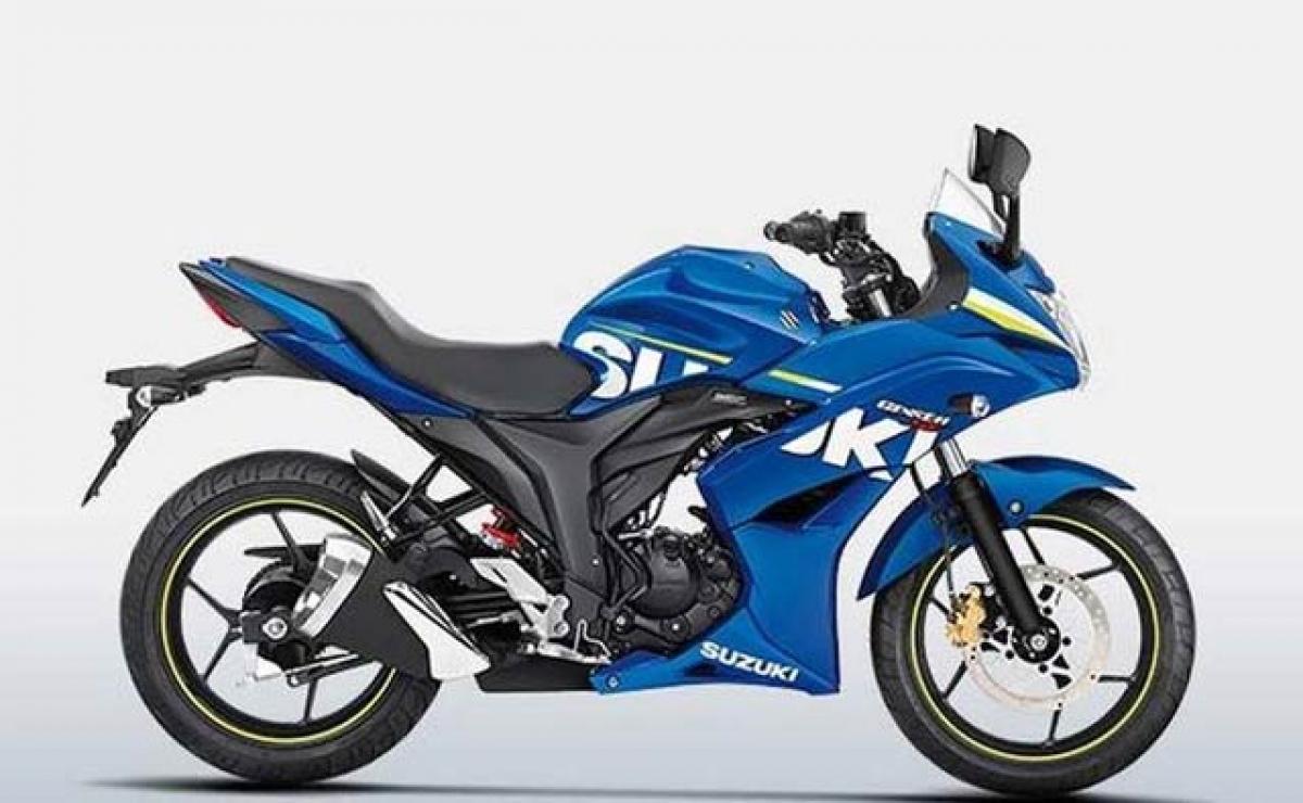 Suzuki Gixxer adds rear disc brake