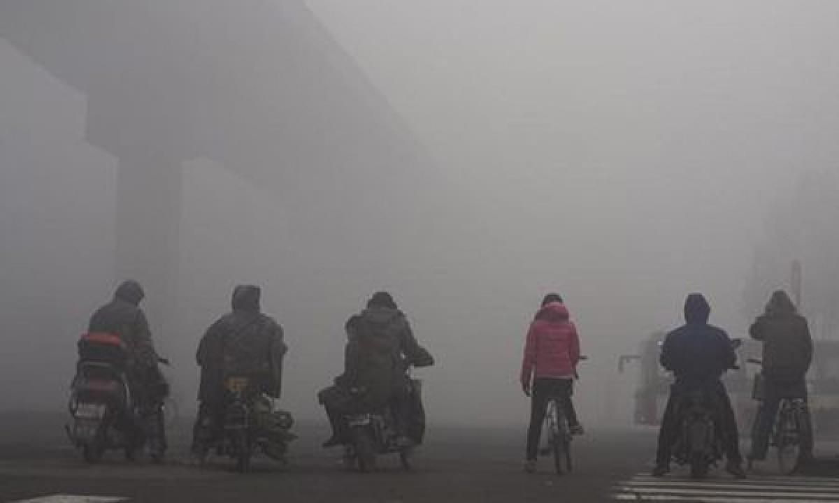 Air pollution in northern Chinese city surpasses WHO guideline by 100 times
