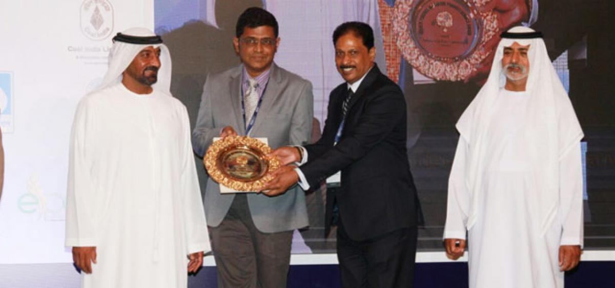 Hyderabad police crowned with Golden Peacock award