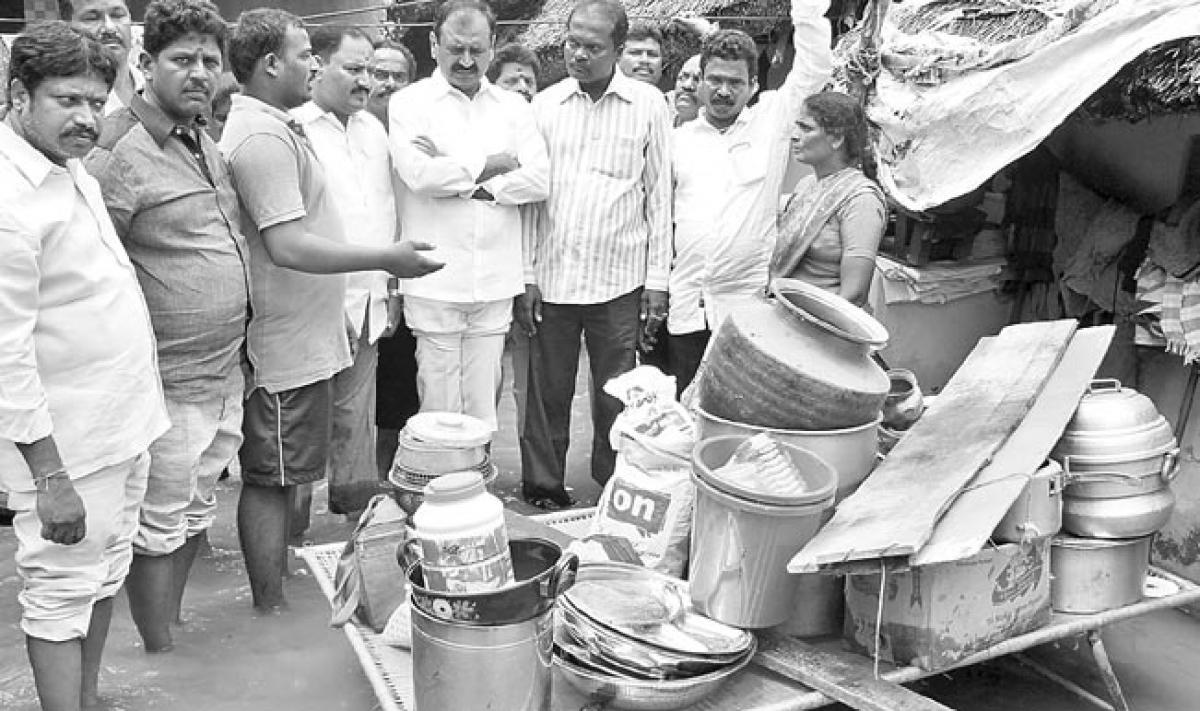 Rain wreaks havoc in Tirupati