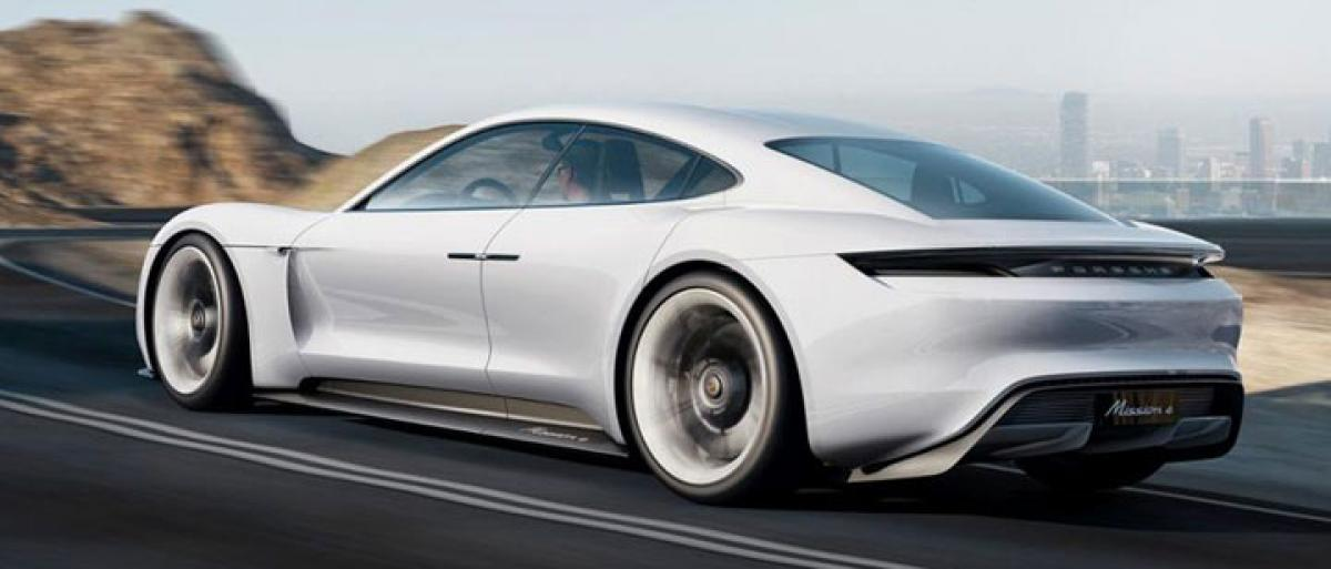 Porsche Mission E project based electric sports car launch by 2020