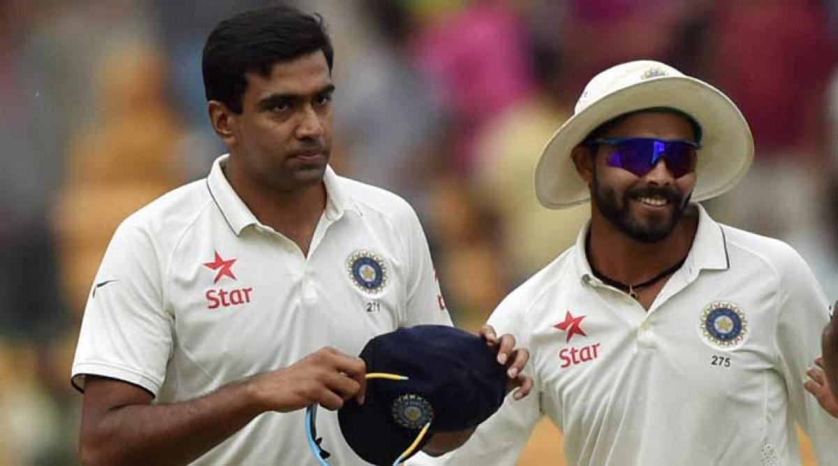 Ashwin, Jadeja top the ICC Test bowling chart
