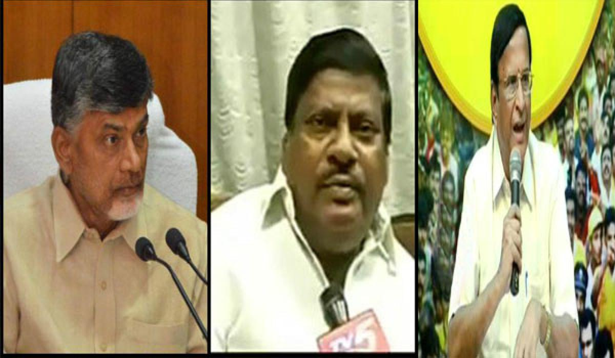 Chittoor TDP wracked by dissidence, CM indifferent