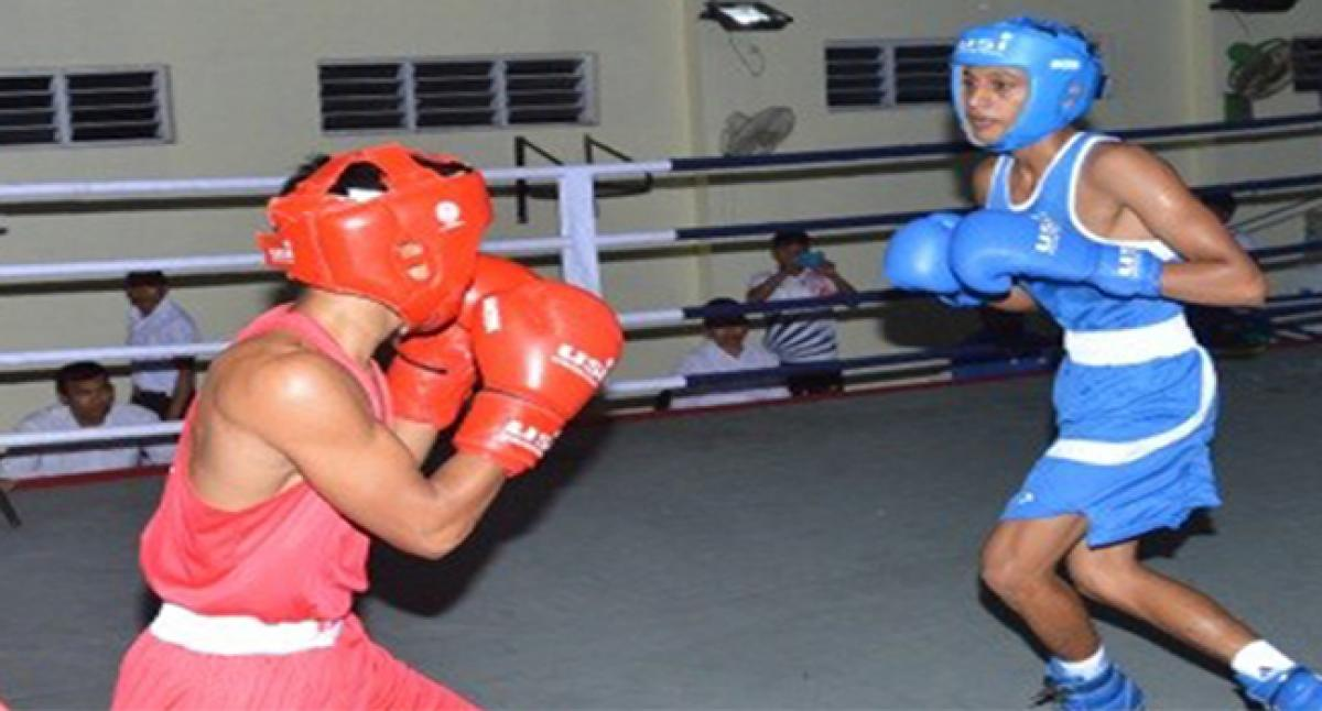 Inter Boys Sports Company Boxing tournament.