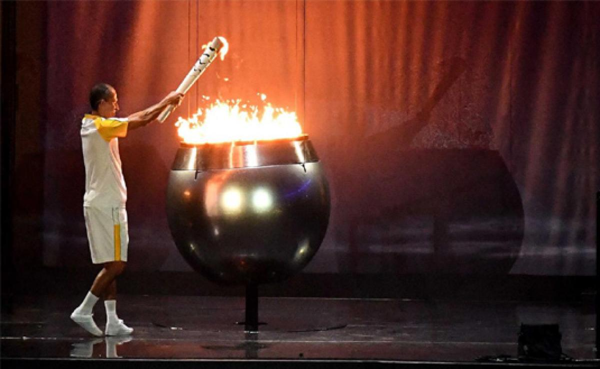Lima had one hour notice to light the flame
