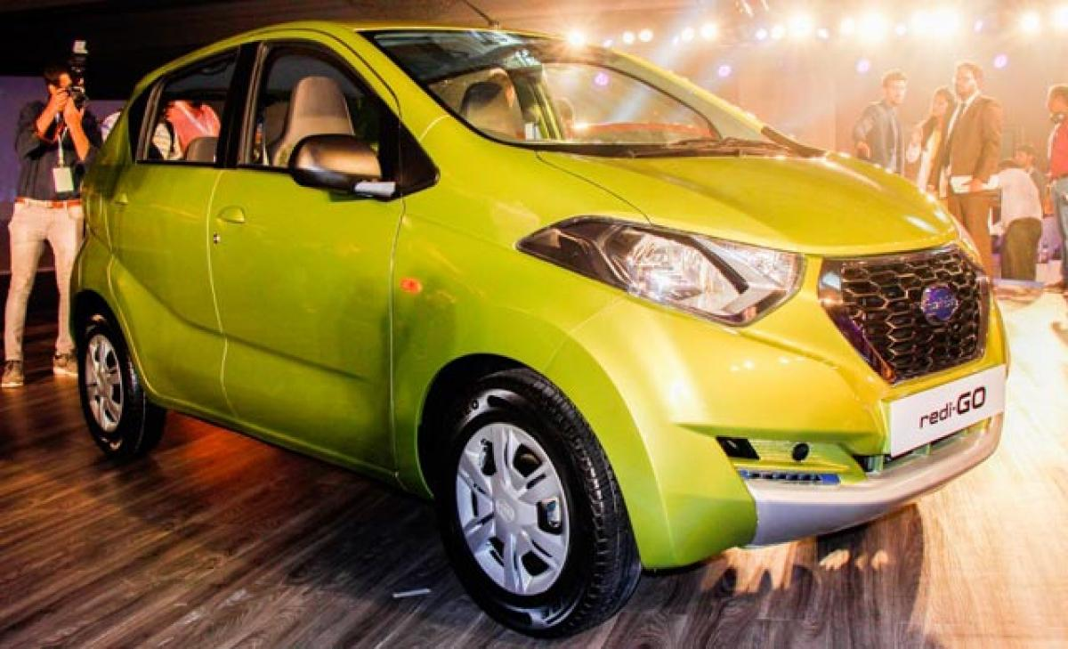 Datsun redi-Go offered in five colours