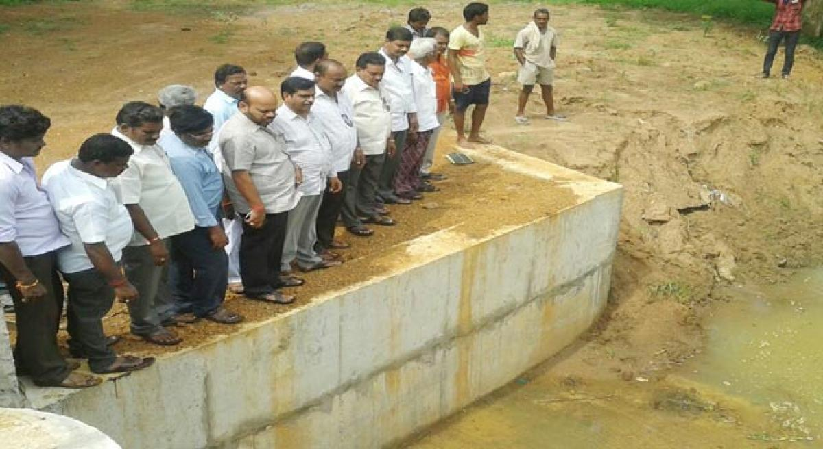 Take up canal repair works to check water wastage: MLA.