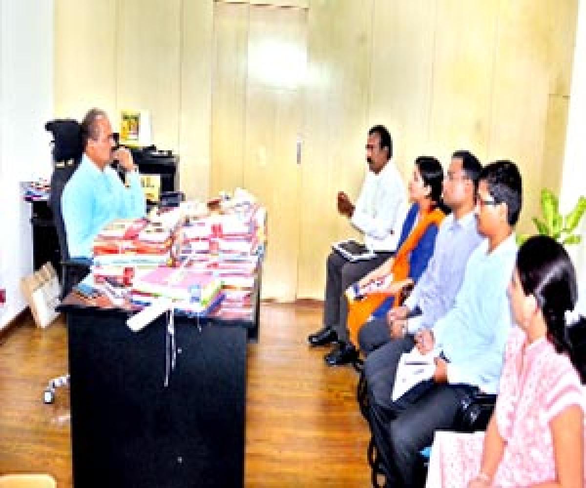 Akhanda Godavari tourist project implementation reviewed