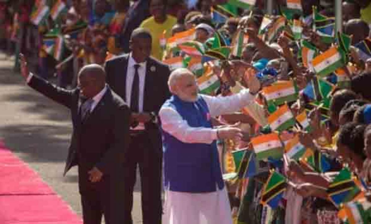 Early Indian migrants to Tanzania from my state Gujarat: Modi