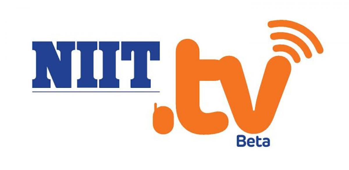 NIIT.tv- A disruptive innovation by NIIT receives phenomenal response