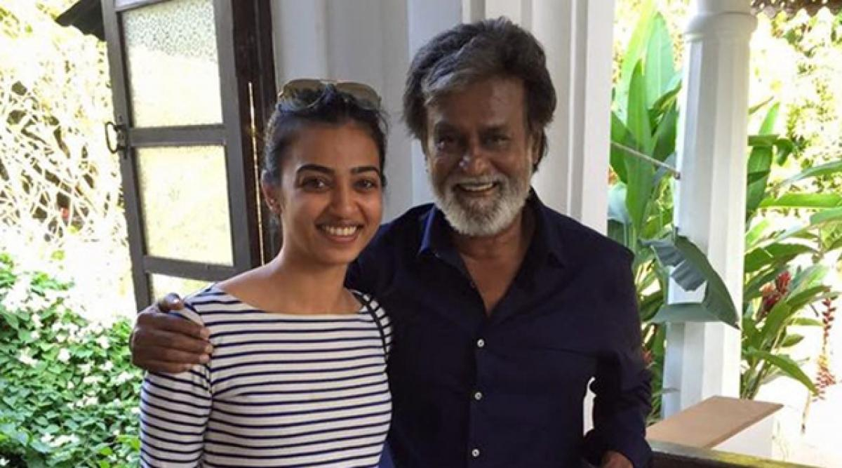 Rajinikanth, Radhika Apte shoot for Kabali in Malaysia