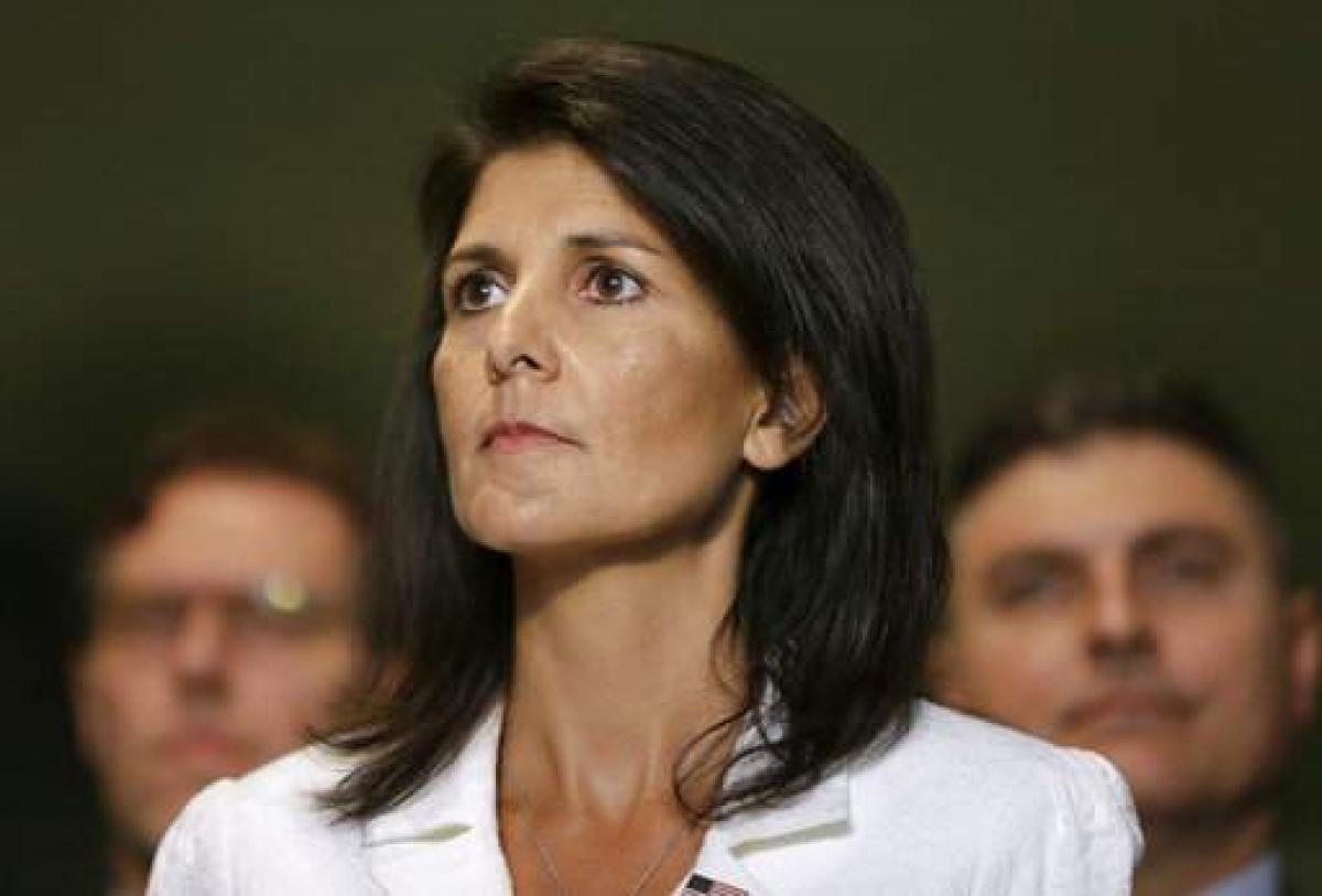 My mother denied judgeship in India for being a woman: Nikki Haley