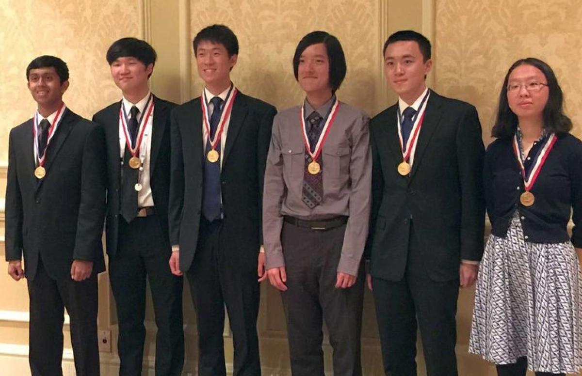 Indian origin man in US chemistry Olympiad team