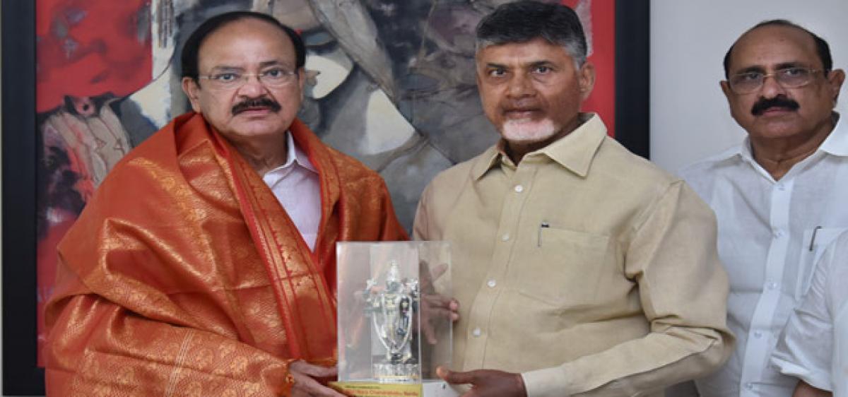 Amit Shah savours Andhra cuisine at CM's house