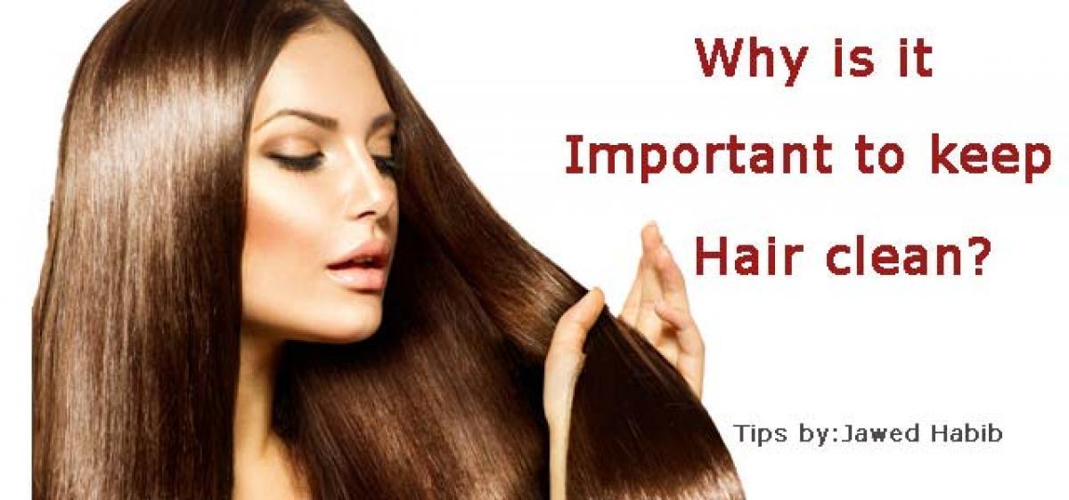Clean hair is healthy & happy hair!