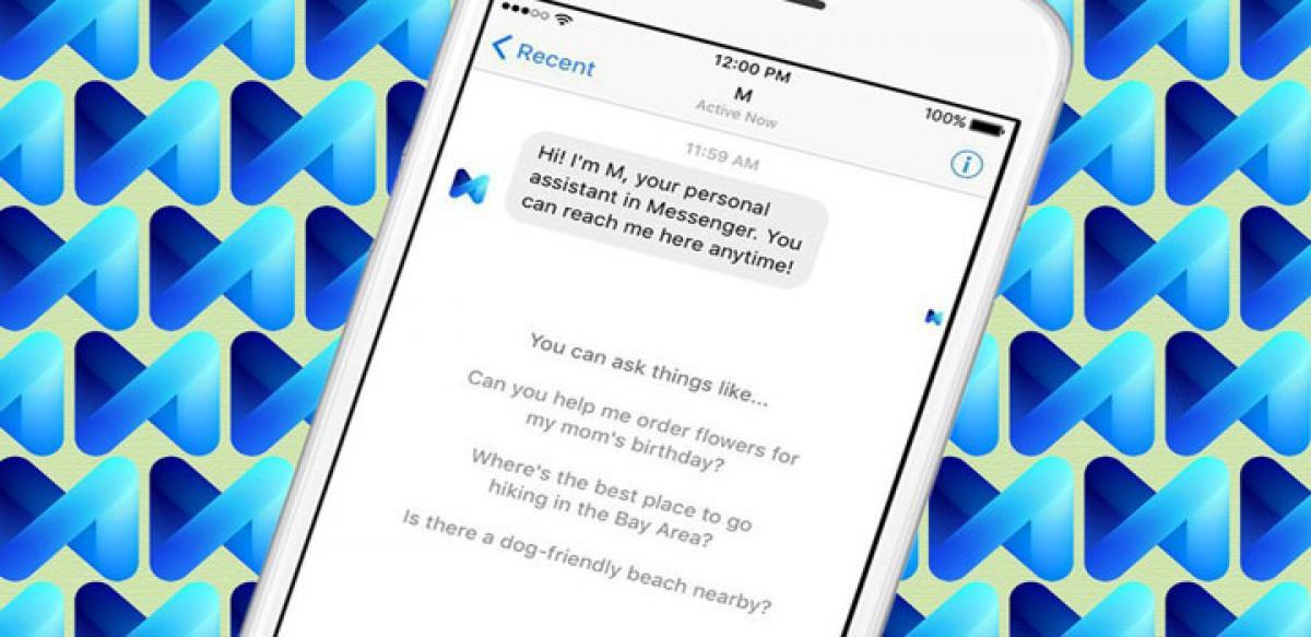 Order bouquet or arrange dinner with Facebooks AI assistant