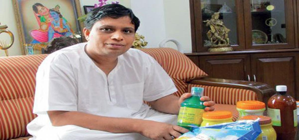 Patanjali's Balkrishna in Forbes rich list