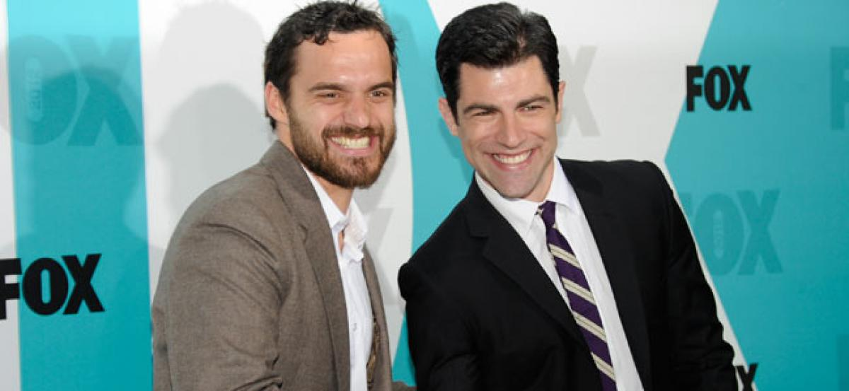 Max Greenfield and Jake Johnson talk about their chemistry