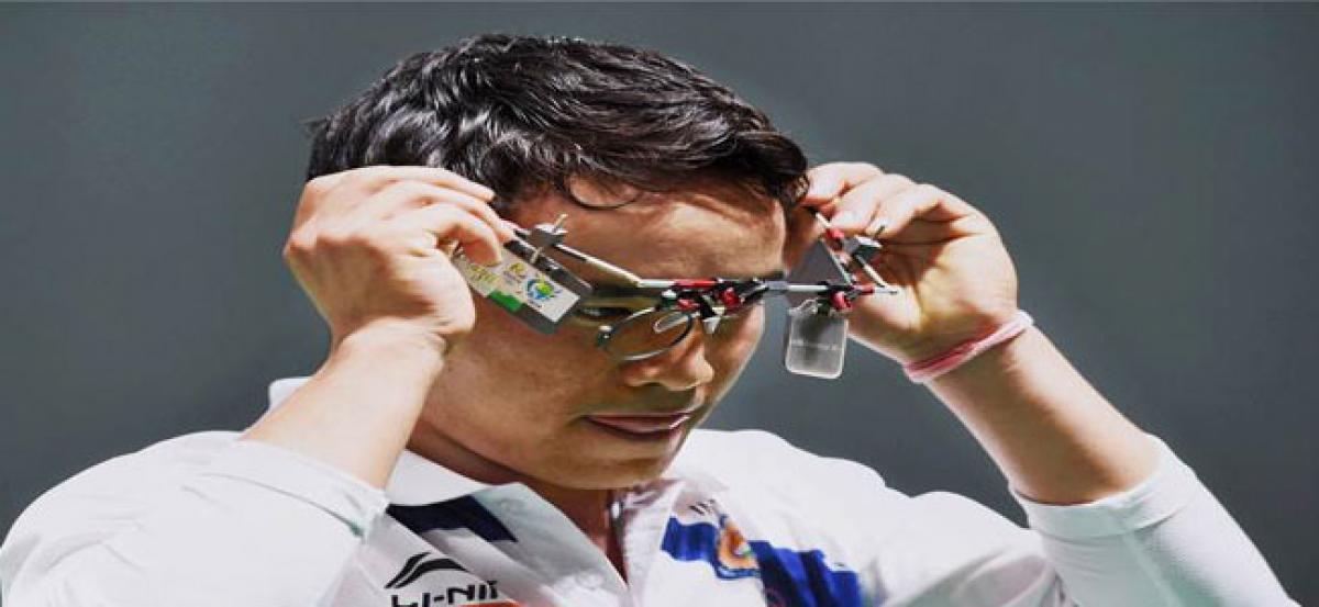Jitu Rai misses the International Shooting Sport Federation World Cup  mark