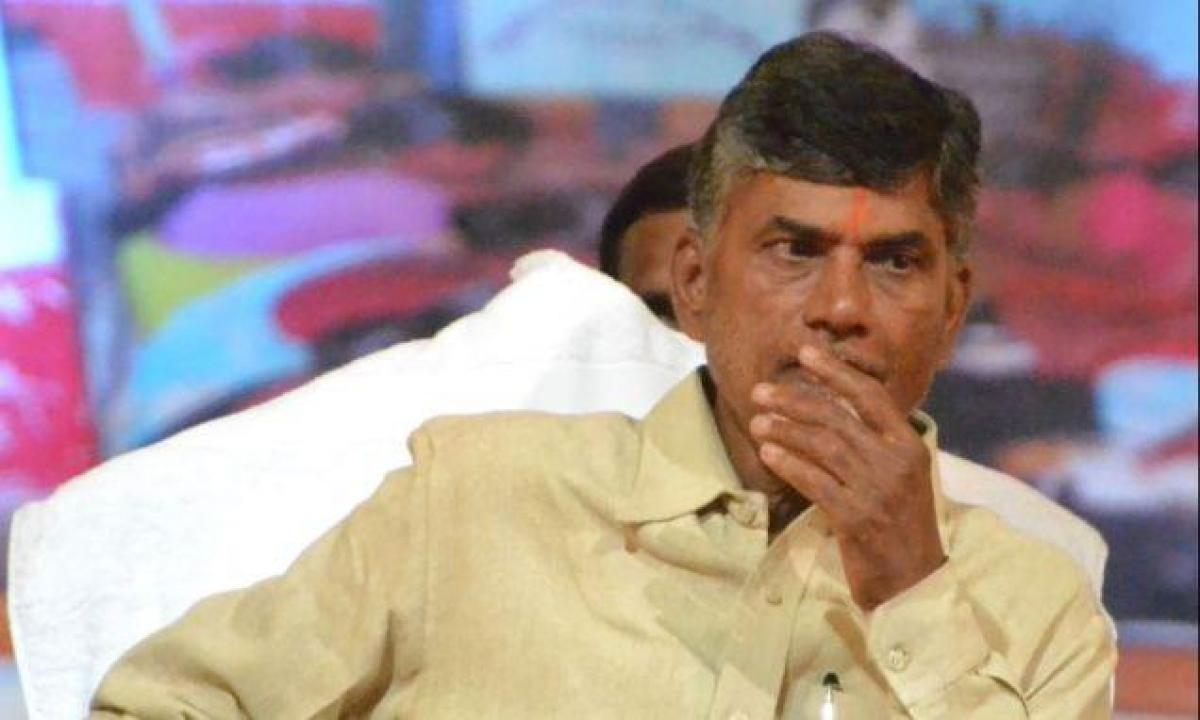Chandrababu reprimands employees over issues on shifting to Amaravati