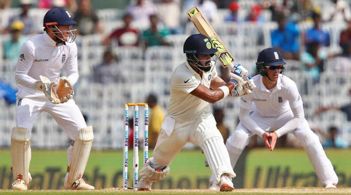Openers crack fifties, India reach 173/1 at lunch on Day 3