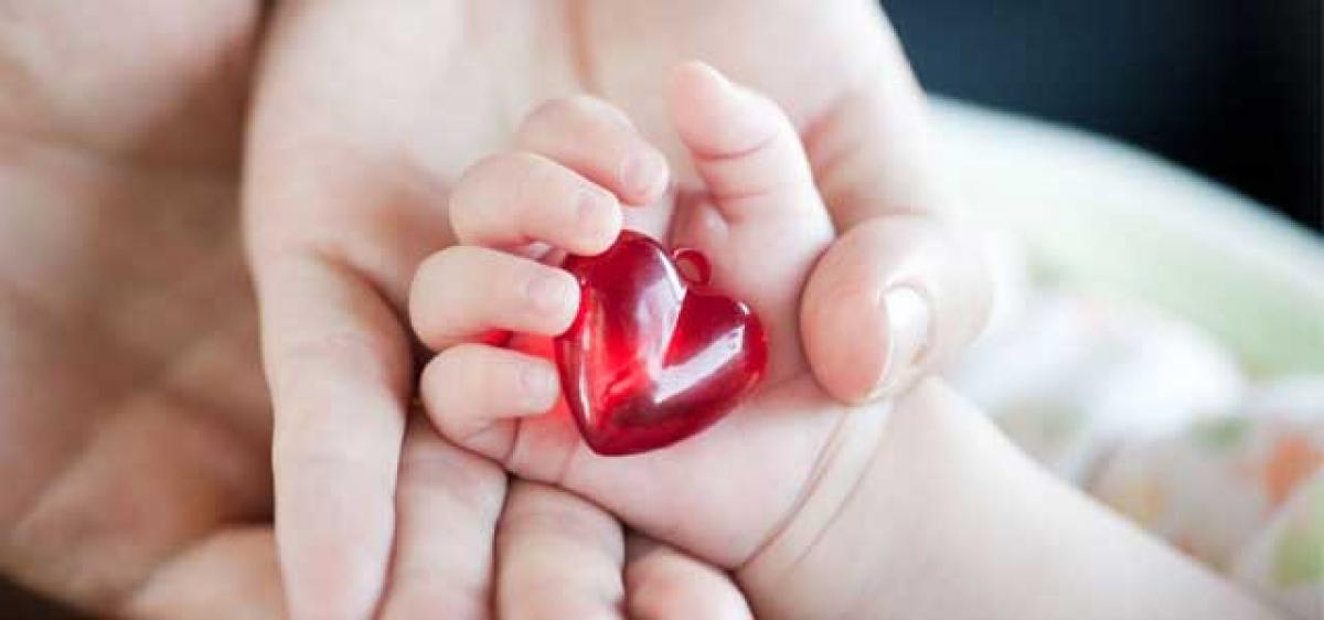 Save heart of new born baby…