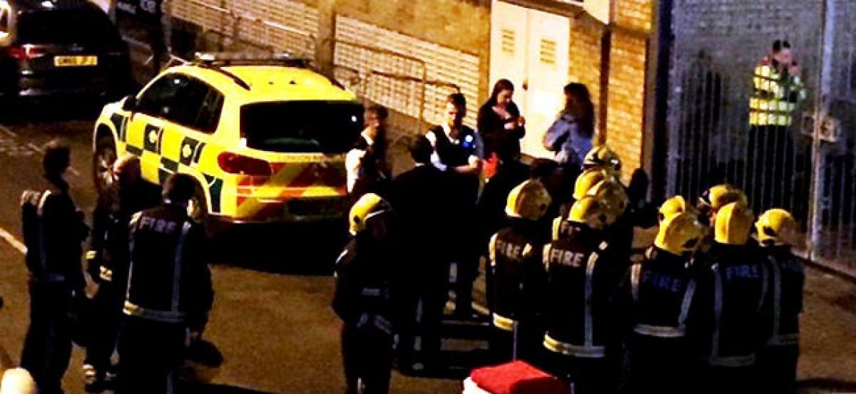 12 injured in London club