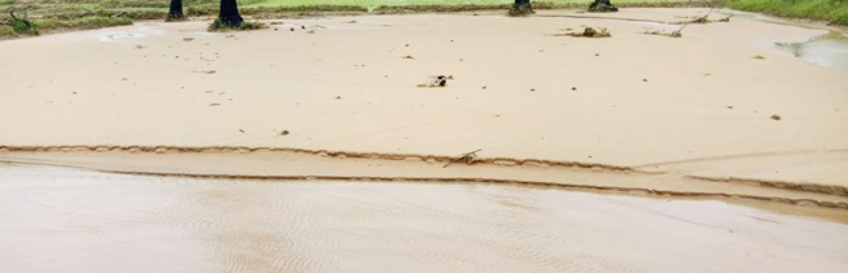 Heavy rains wreak havoc in Kothagudem district