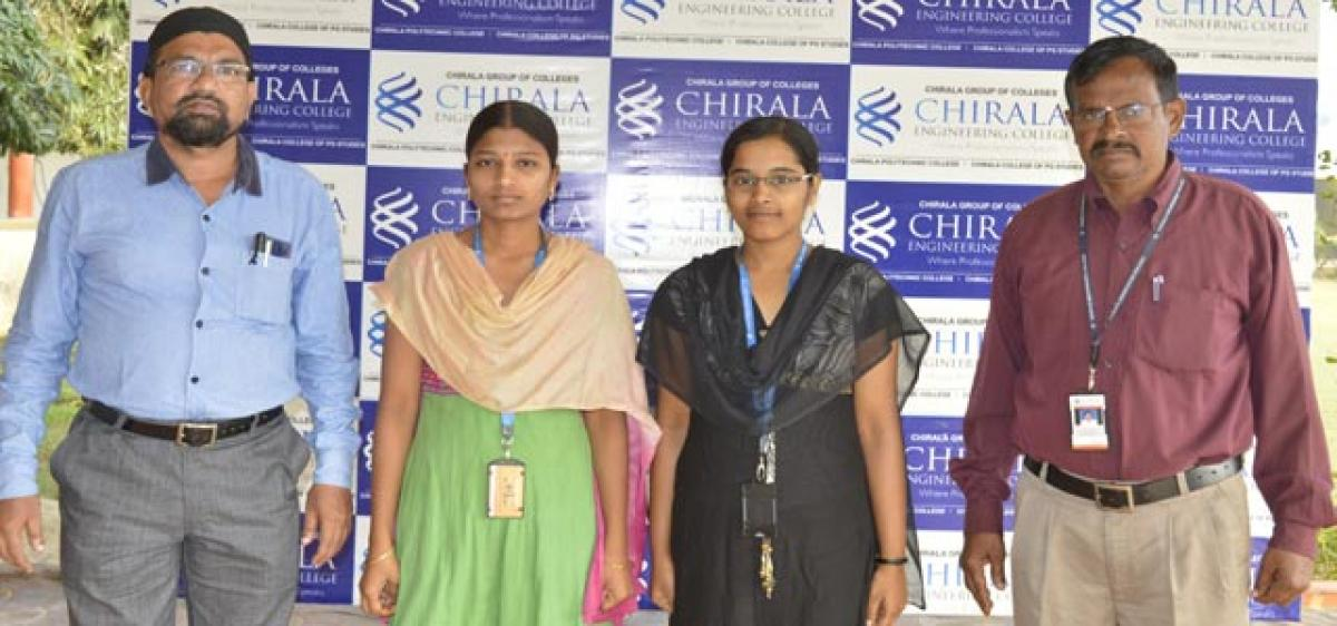 CEC students selected for JNTU Kho Kho team