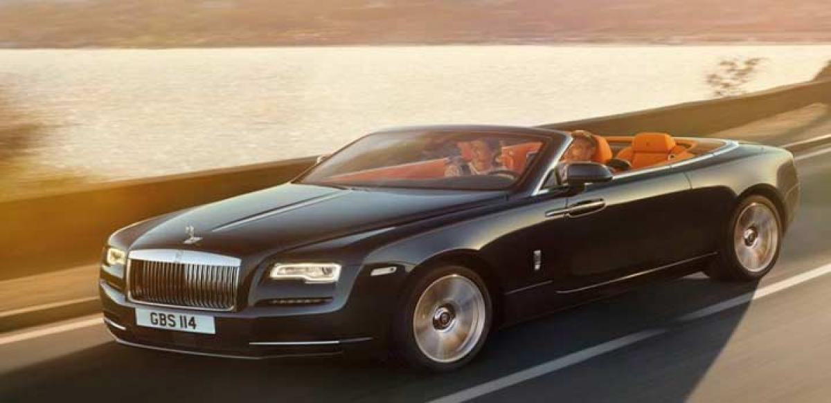 Dawn of Rolls Royce