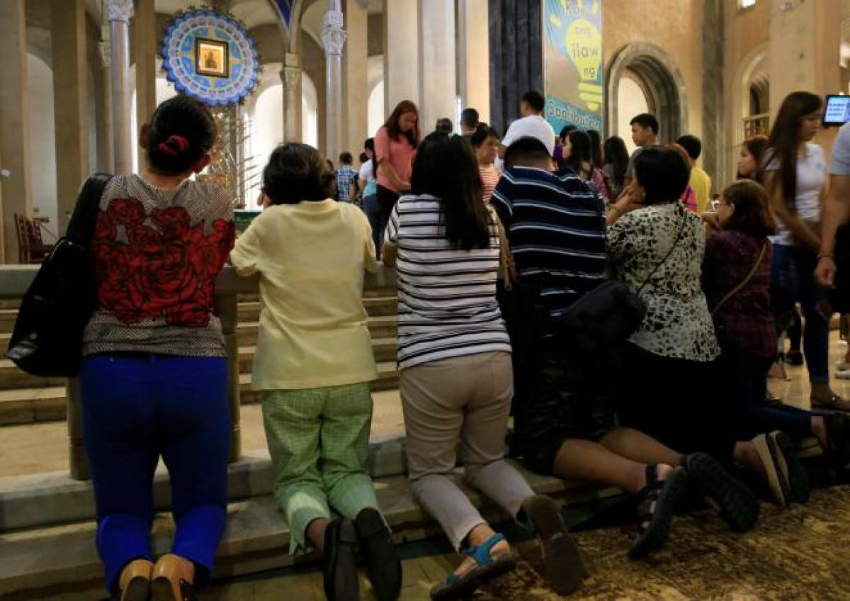 Philippines govt says church out of touch in attacking drugs war