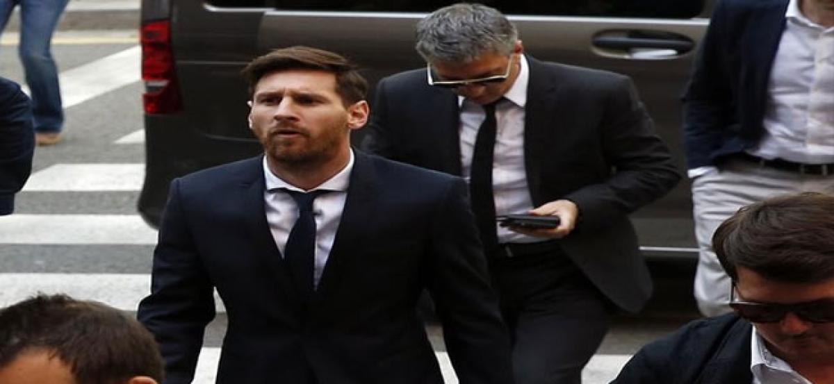 Lionel Messi faces jail term