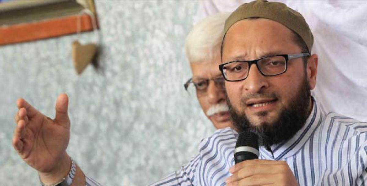 FIR registered against Asaduddin Owaisi for violating Model Code of Conduct