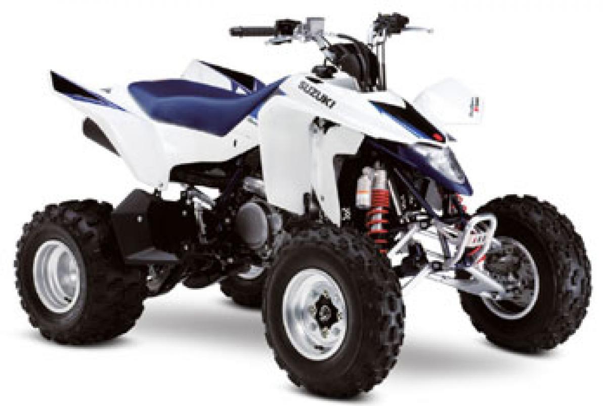 Suzuki launches ATVs in India