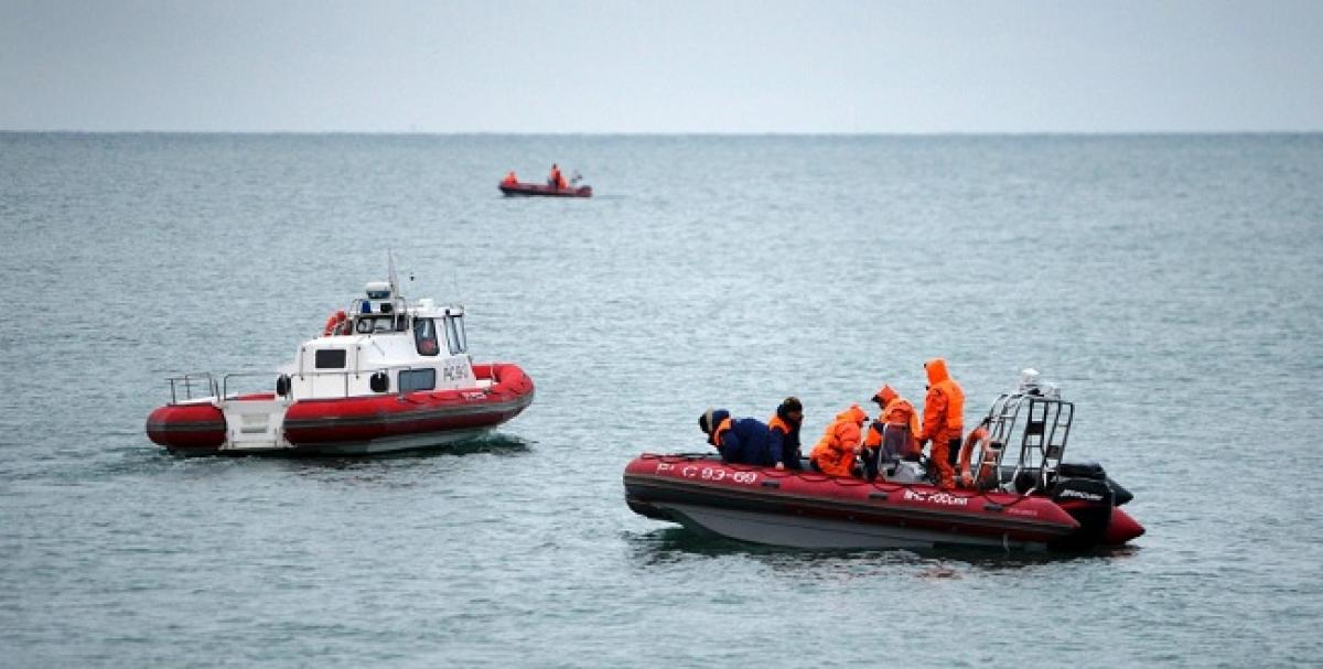 Russian military plane crash: Rescuers find flight recorder from Black Sea