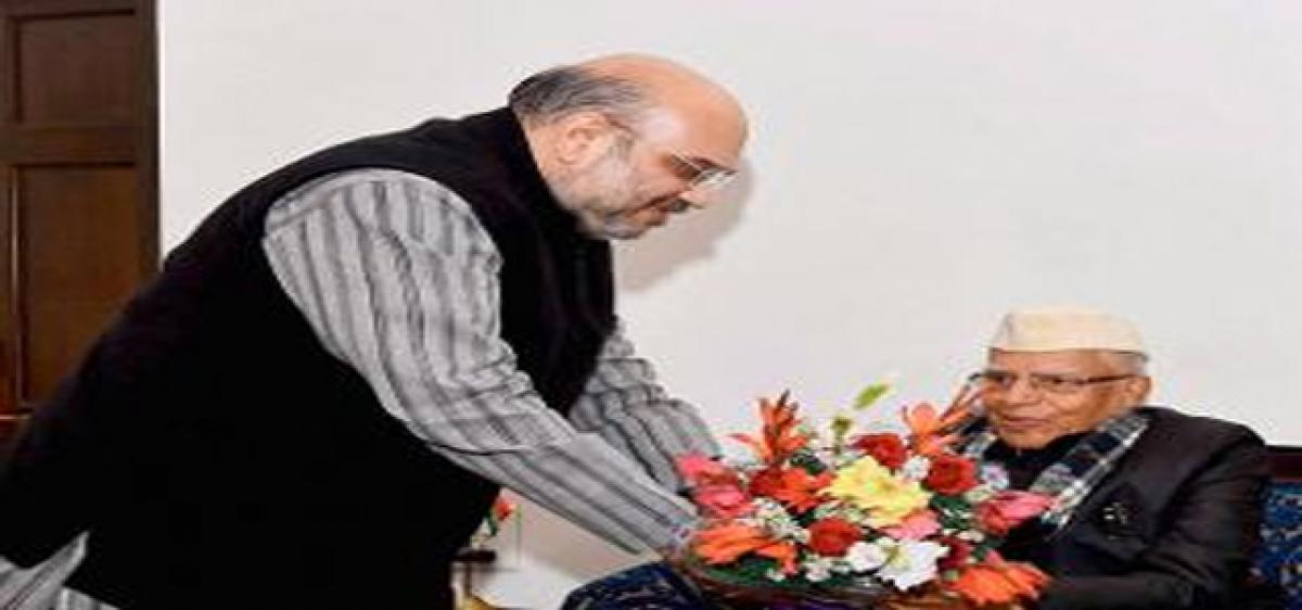 Veteran Cong leader ND Tiwari joins BJP