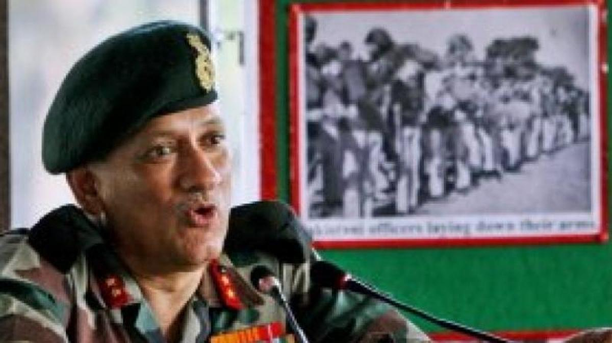 Pak shelling, global warming triggering avalanches in J&K: Army chief