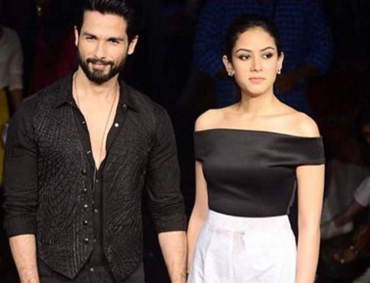 Newly weds Shahid-Meera steal show at Lakme Fashion Week