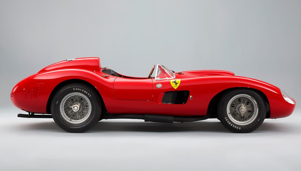 Owner of auctioned 1957 Ferrari 335 S Spider Scaglietti revealed