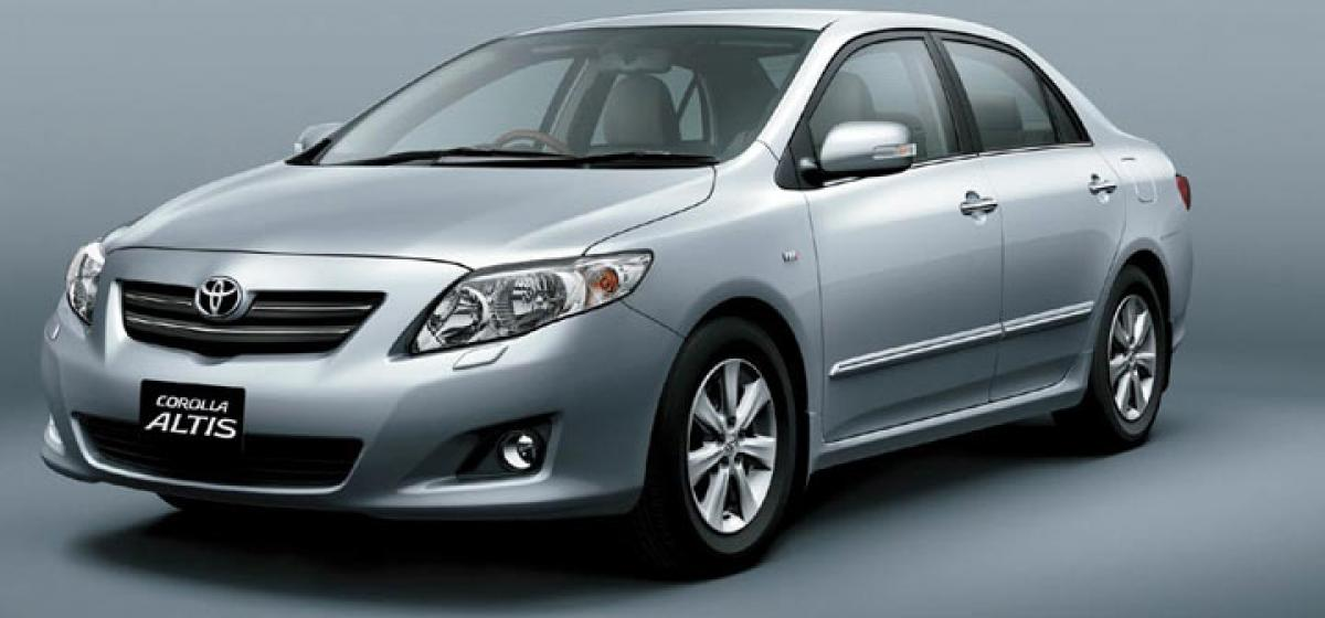Toyota Corolla Altis Limited Edition launched