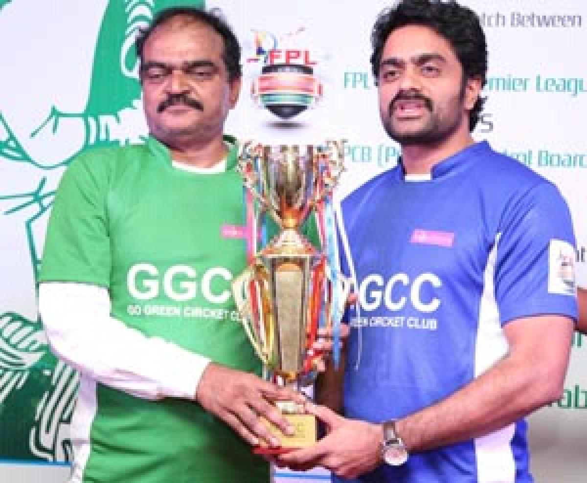 Cricket tourney to promote greenery
