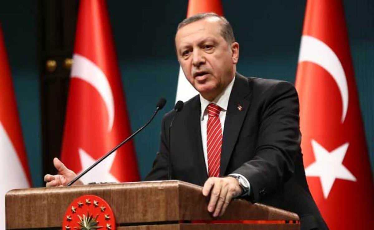 Recep Tayyip Erdogan Accuses Angela Merkel Of Supporting Terrorists