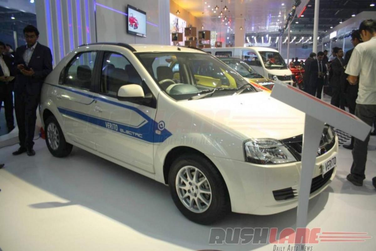 Launching today: Mahindra Verito electric sedan