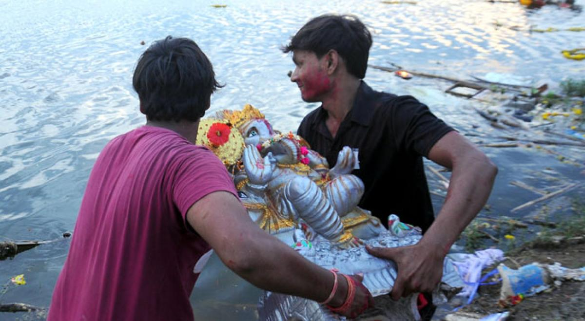 Ganesh festivities conclude on a grand note