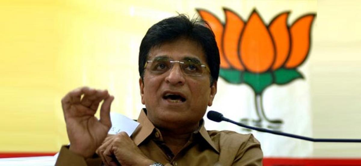 Shiv Sena took money for dumping ground closure: Somaiya