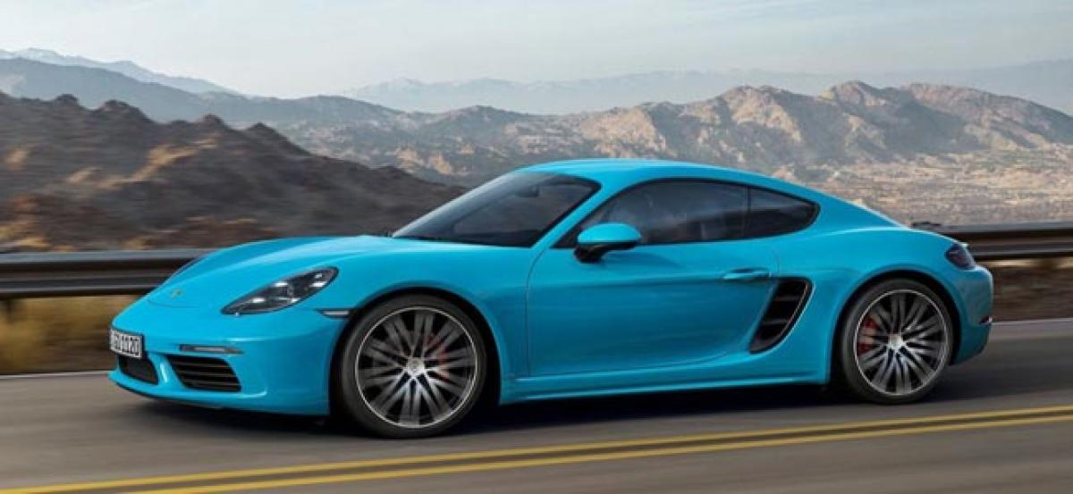 Porsche 718 Boxster, 718 Cayman India Launch This Year