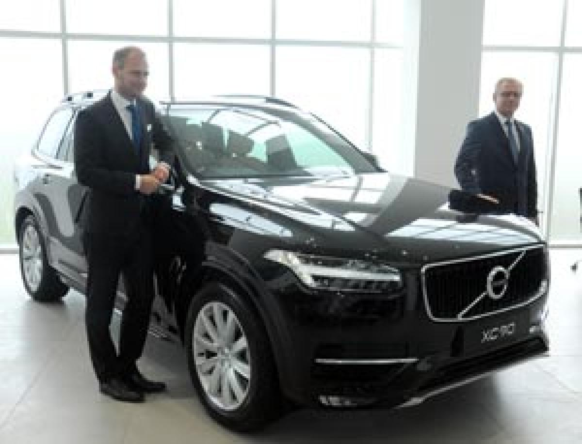 Biggest Flagship Store Of Volvo Auto India Inaugurated