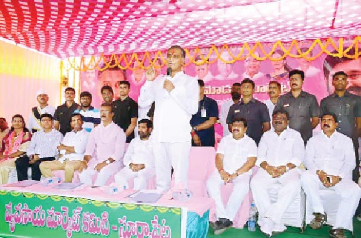'Congress creating hurdles in TS growth'