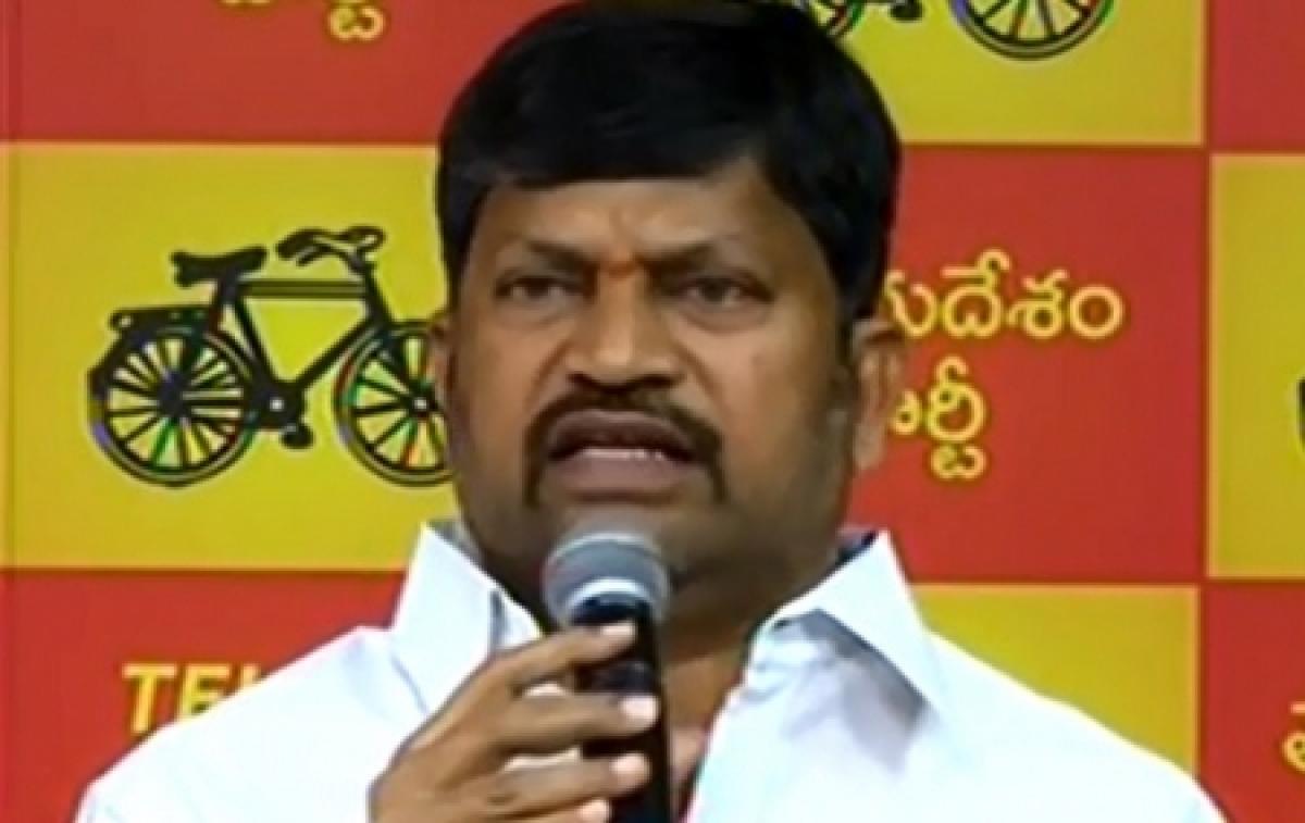 Telangana TDP President L Ramana admitted to hospital