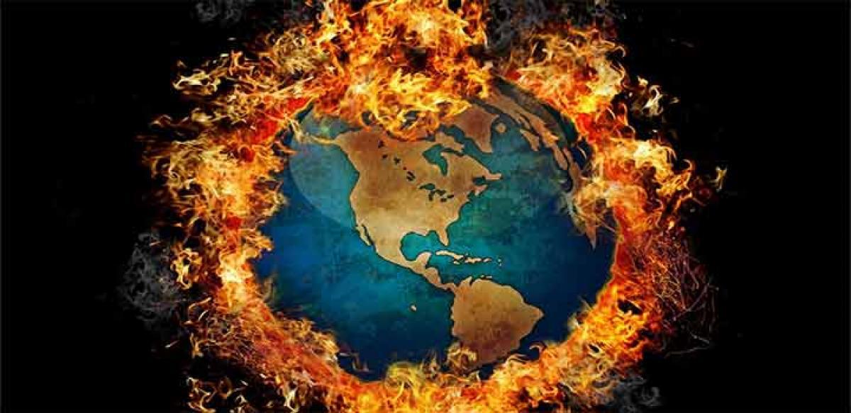 Global warming began in 1940s